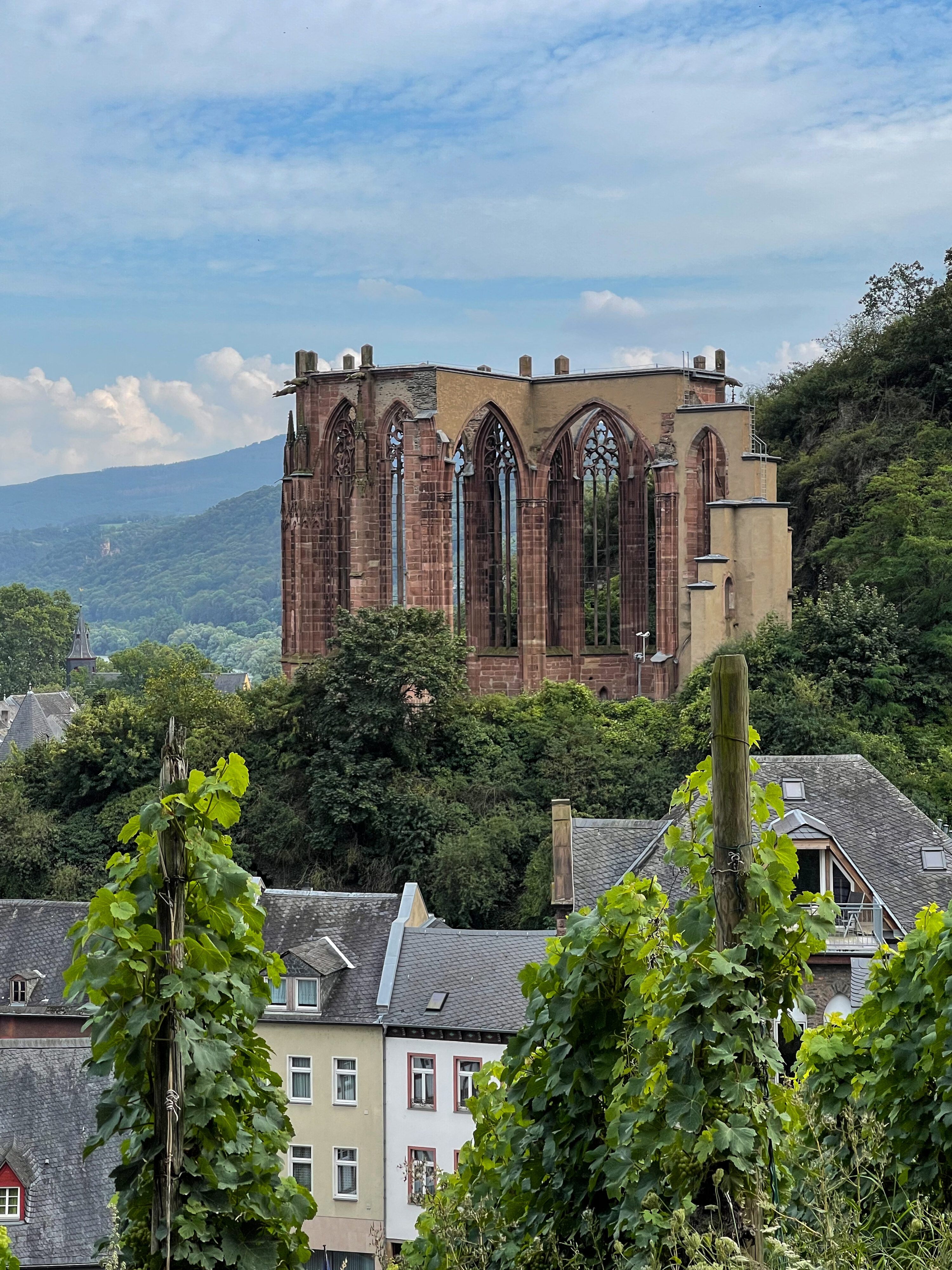 Bacharach – ein Schmuckstück der Rheinromantik: Wernerkapelle